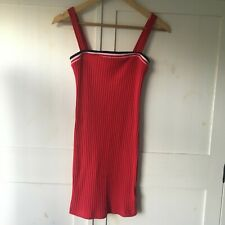 Urban Outfitters Silence + Noise Red Vintage Dress Size Medium (UK8)