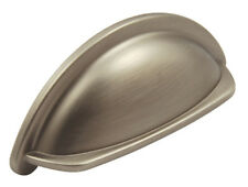 1 of Draw or Door Cup Handle for Kitchen, Cupboard, Pewter ~ RRP £9.15 each