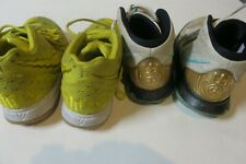 Lot Of 2 Nike Kids Sneakers Size 2.5 Kyrie Cv5573-149 & Cn4501-700 Spongebob