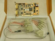 New Hikvision DS-4008HS 8-Channel PCI Video Audio Capture DVR NVR Card & Cables