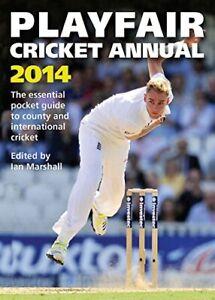 Playfair Cricket Annual 2014 By Ian Marshall