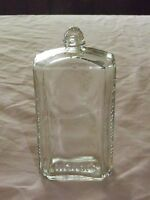"VINTAGE ASTRING-O-SOL  6"" HIGH EMBOSSED BOTTLE"