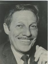Jean Sablon Vintage silver Print,Jean Sablon est un auteur-compositeur-interpr