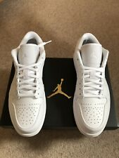 Nike Air Jordan 1 Low Triple White New Size 10 UK, 11 US, 45 EU