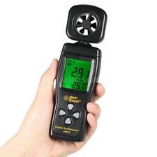 SMART SENSOR Mini Anemometer LCD Digital Wind Speed Meter with Backlight A7