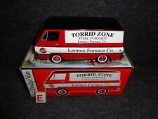 LENNOX FURNACE COMPANY TORRID ZONE 1964 DODGE A100 DELIVERY VAN TRUCK DIECAST E