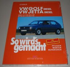 Reparaturanleitung VW Golf II Diesel Typ 19E / Jetta Diesel ab September 1983