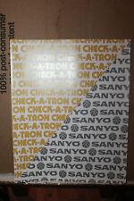 Vintage Sanyo Check-A-Tron Cash Register Spec Sheet Model ECR 8LB Rare
