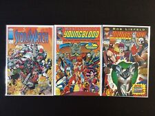 3 Issue Lot - Image Comics Stormwatch 1 Youngblood 1, 2