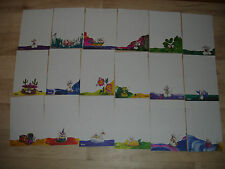 Lot feuilles DIDDL format A5 numéros 37 à 54 inclus