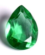 Colombian 7.55 Ct Natural Green Emerald Pear Cut Loose Gemstone Certified A1278