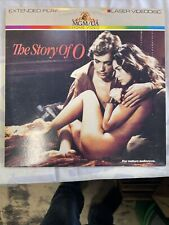 THE STORY of O (LD) Laserdisc Corinne Clery Anthony Steel 1975 Rare