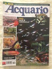 IL MIO ACQUARIO n.108 anno 2007 rivista di pesci rettili piante invertebrati...