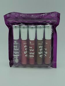 5 pack Essence Cosmetics Shine Shine Shine Wet Look Lip Gloss