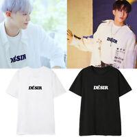 Kpop EXO Park Chanyeol Stray Kids Same Style T-shirt Fashion Unisex Shirt