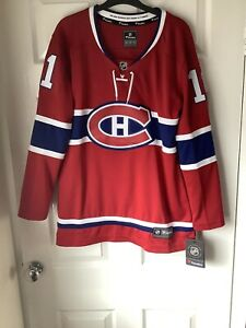 Brand New With Tags Fanatics NHL Montreal Canadiens Women's Jersey Red Medium