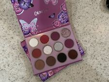 ColourPop Butter Me Up 🦋 Eyeshadow Palette 12 Shades ~ Glitter Shadow Purples