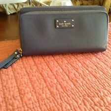 Kate Spade New York Grove Street Anita Wristlet Handbag Clutch Purse Wallet BLUE