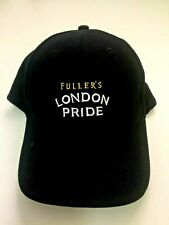 Fuller's LONDON PRIDE BEER Baseball Cap Hat Black Adjustable New