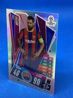 TOPPS MATCH ATTAX CHROME 2020-21 20/21 BARCELONA LIONEL MESSI REFRACTOR