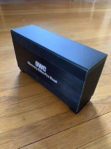 OWC Mercury Elite Pro Dual 1.5 TB External Drive