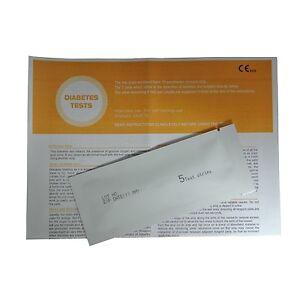 5 Diabetes Glucose Ketone Urinalysis Home Urine Test Kit Strips