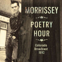 Morrissey : Poetry Hour: Colorado Broadcast 1992 CD (2018) ***NEW*** Great Value