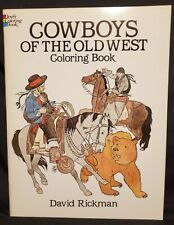 Dover Coloring Book, Cowboys of the Old West