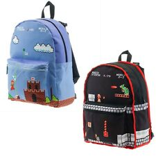 NEW OFFICIAL Super Mario Bros Nintendo Classic Reversible Backpack Bag Rucksack