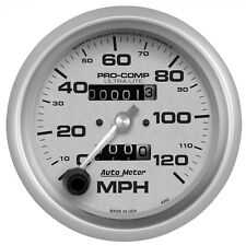 AutoMeter 4492 Ultra-Lite In-Dash Mechanical 0-120mph Speedometer 3-3/8""