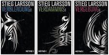 Millennium Trilogie Vergebung Verdammnis Verblendung von Stieg Larsson