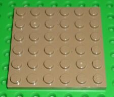 NEUF * Lego Train Bogie Plate 6 x 4 JAUNE 9 V 12 V RC trains AP 4025
