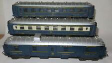Lima CIWL  Wagon Lits pullman coaches - - - - --  rijtuigen