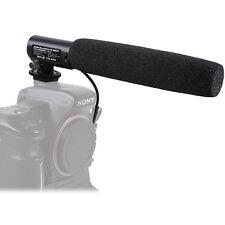 DC/DV Audio Mikrophone Mikrofon Microphone+Blitzschuh Adapter f Sony Kamera a77