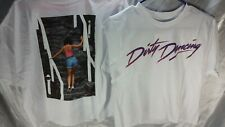 DIRTY DANCING MOVIE DUAL SIDED MID CUT GRAPHIC SHIRT XS NEW FAST FREE SHIPPING