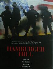 HAMBURGER HILL (1987) Don Cheadle Dylan McDermot Courtney B.Vance Steven Weber