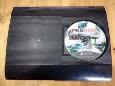 PS3 Super Slim Sony Playstation 12 GB + 1 controller + Pro Evolution Soccer 2018