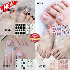 Color Street Nail Polish Art Sticker Strips Pedicure Foot Manicure For Women NEW