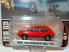 GREENLIGHT CHASE GREEN MACHINE HOT HATCHES 1982 VOLKSWAGEN GOLF GTI A8