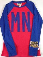 Minnesota State Shirt Todd Snyder Thermal Lightweight Long Sleeve Women USA Made