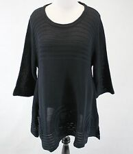 NEW NWT Knithouse by Maria Dahlhoff Lagenlook Sweater Blouse Plus Size 3 (1X)
