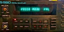 Roland S 550 Sampler, Very good, floppy emulator,   eb2b