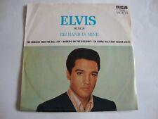Elvis Presley 45 EP Elvis Sings His Hand In Mine (RCA 20406, Australia)