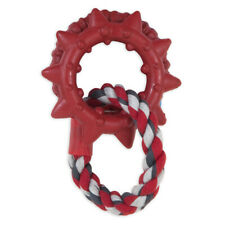 Dogzilla Dino Links MEDIUM Dog Toy Rubber Rope