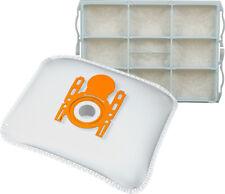 10 Staubsaugerbeutel + 1 Motorschutzfilter für Siemens VS04G2301/06 rapid 2400W