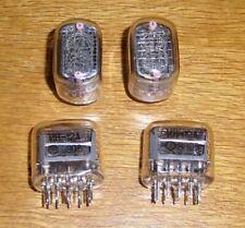 6 Nixie - Röhren IN - 12 A inklusive Fassungen
