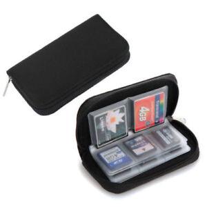 Compact Flash SD Card Bag Beutel Tasche Container X Tabs SD Cf Nikon Canon