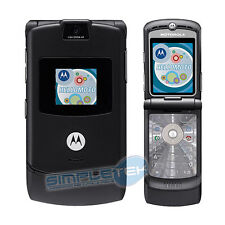 PHONE MOBILE PHONE MOTOROLA RAZR V3 BLACK SILVER WARRANTY