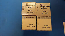 (1 PC) BHB 120V 250W PROJECTOR PROJECTION LAMP BY GE