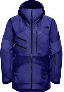The North Face Men's Fuse Brigandine Gore-Tex Snow Ski Shell Jacket Blue Size L